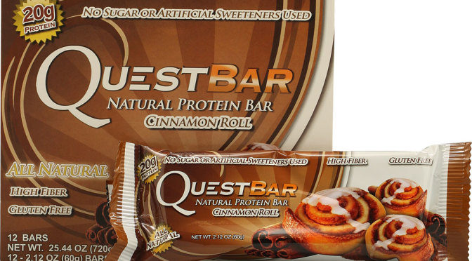 Quest Bar – Cinnamon Roll