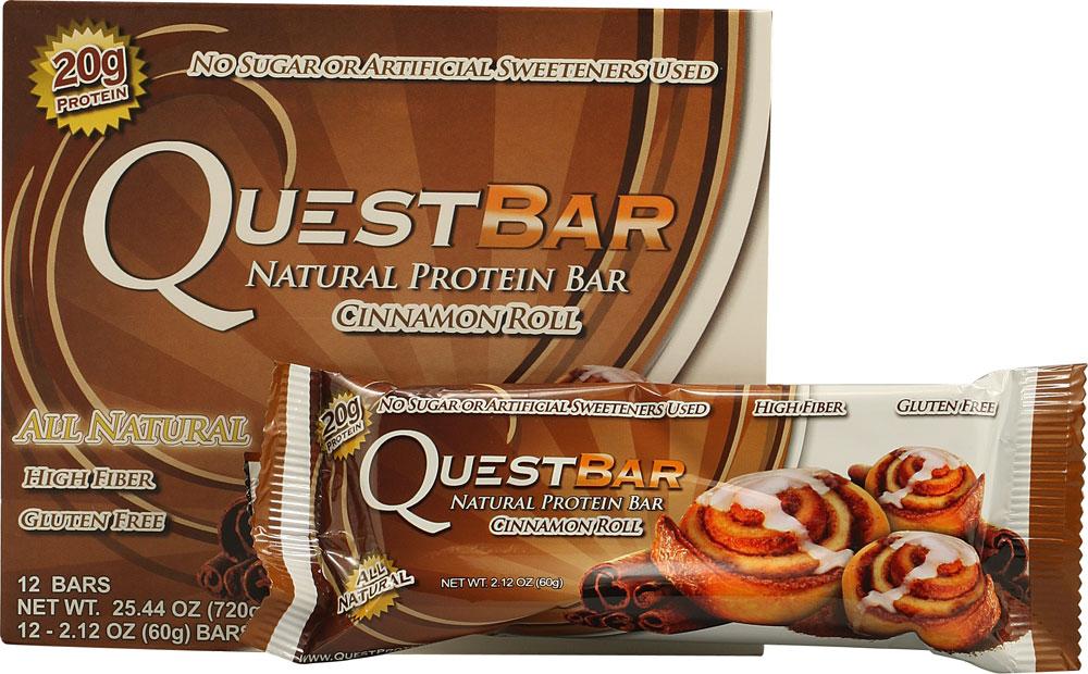 Quest bar cinnamon roll mattahfahtu for Muscle food quest bar