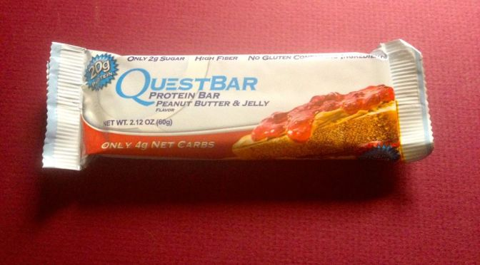 Quest Bar – Peanut Butter and Jelly