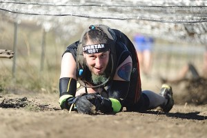 Barbwire crawl