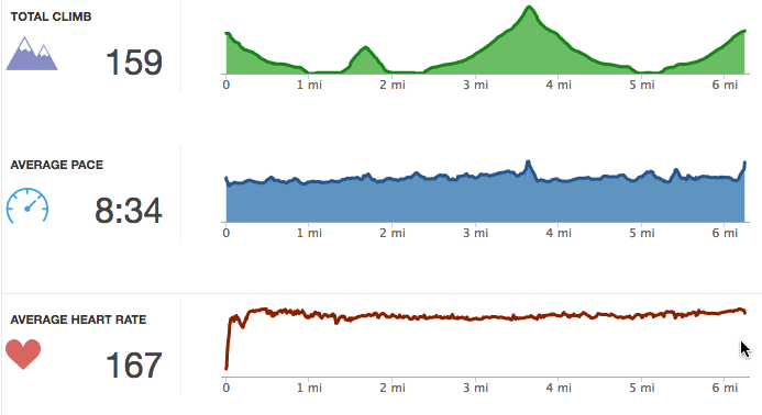 RunKeeper Graphs on the run