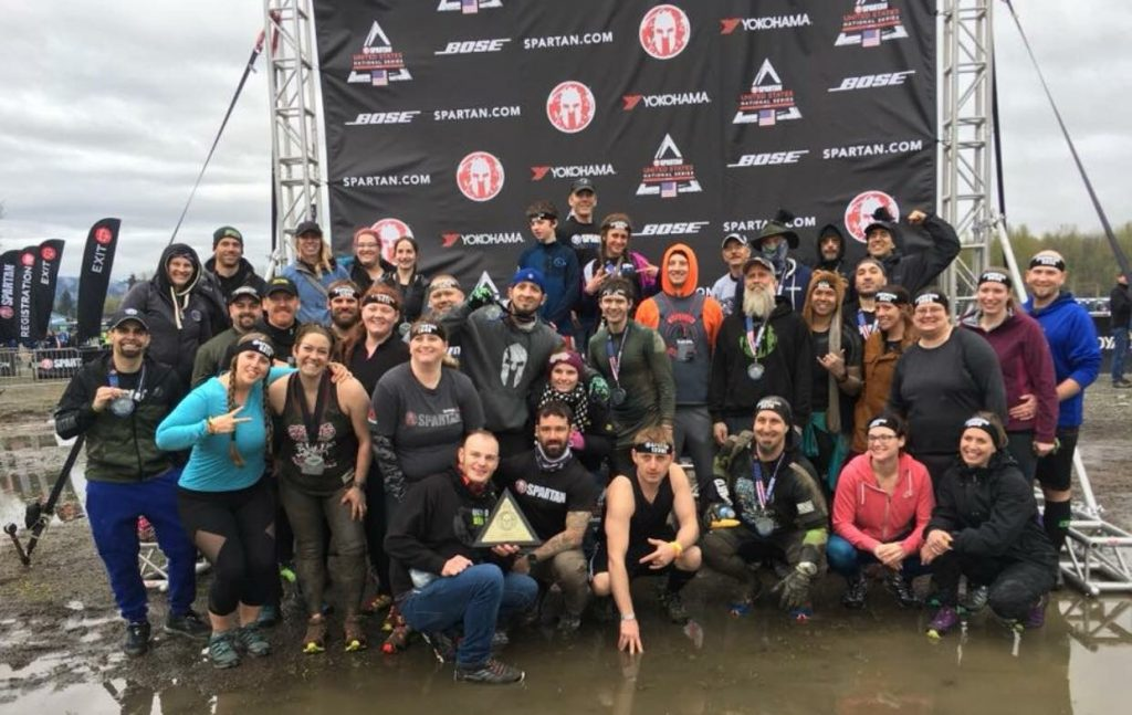 Seattle Super Spartan - Biggest Team PM