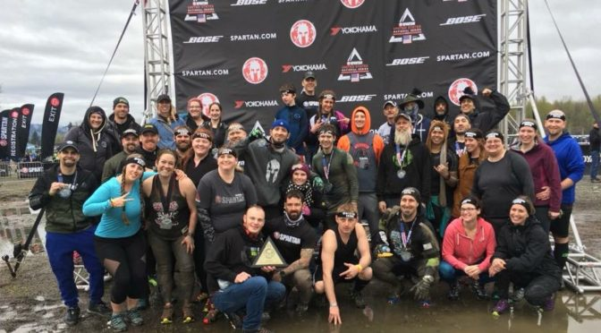 2018 Seattle Super Spartan in Snohomish WA