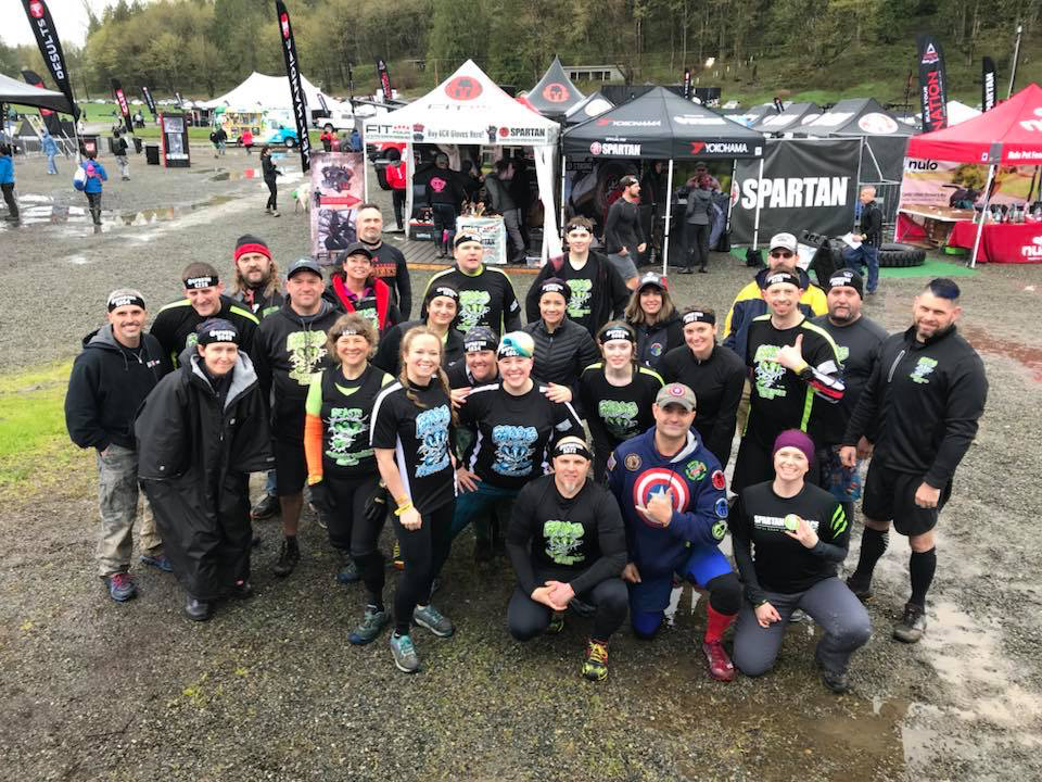 Seattle Super Spartan - Biggest Team AM