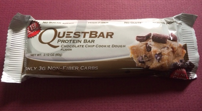 Quest Bar – Chocolate Chip Cookie Dough