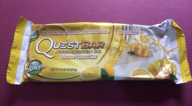 Quest Bar – Lemon Creme Pie